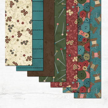 River's Bend - Keeping You In Stitches - 2.5'' Strips/42PC - Multi