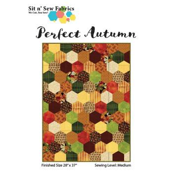 Perfect Autumn Hexies Quilt Kit