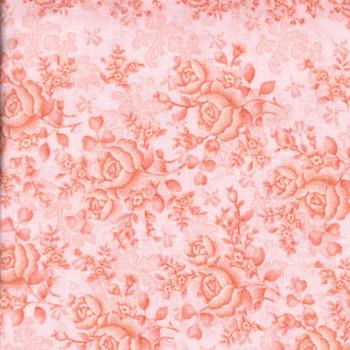 Benartex - Homestead Wide - Climbing Roses/Tonal - Pink