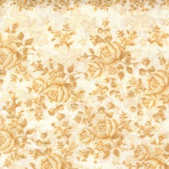 Benartex - Homestead Wide - Climbing Roses/Tonal - Cream