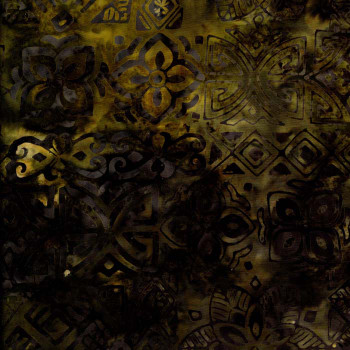 Benartex - Desert Valley Balis - Black/Gold