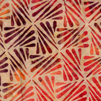 Timeless Treasures - Tonga Batiks - Purple/Red