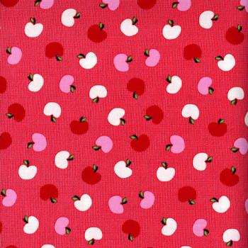 Benartex - The Big Apple - Tossed Apples - Red