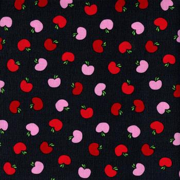 Benartex - The Big Apple - Tossed Apples - Black