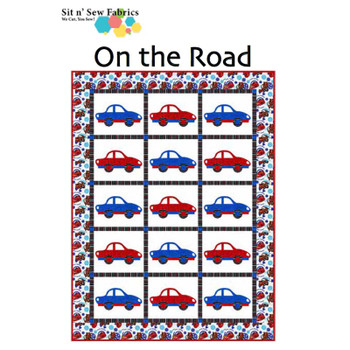 Disney's Cars - On the Road - Ready-to-Sew Quilt Kit