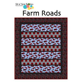 Farmall/International - Farm Roads - Ready-to-Sew Quilt Kit