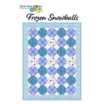 Disney's Frozen - Snowballs - Ready-to-Sew Quilt Kit