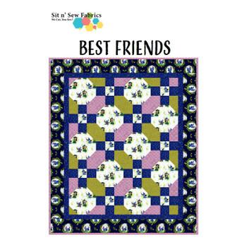 Disney's Lilo & Stitch - Best Friends - Ready-to-Sew Quilt Kit