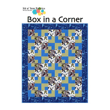 Transformers - Box in a Corner - Ready-to-Sew Quilt Kit