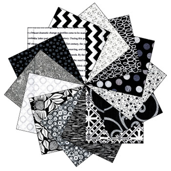 Black and White - 5'' Squares