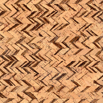 Cork - 15x18 Edge - Chevron