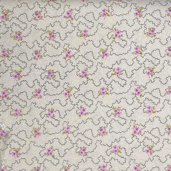 RJR - Katherine Ann - Floral Sketch - Cream