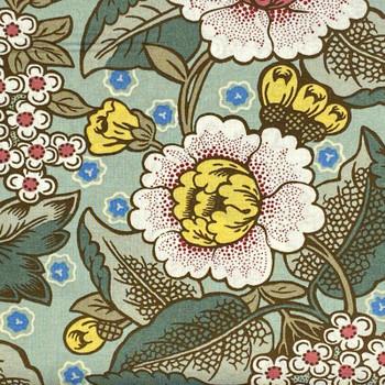 RJR - Home Again - Large Floral Print - Green
