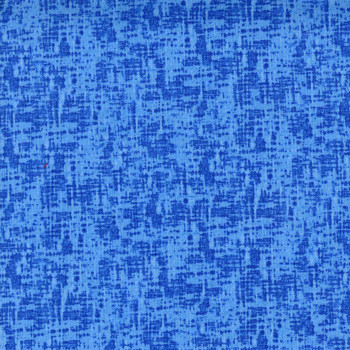 Quilter's Cupboard - Grunge Plaid - Sapphire