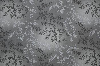 Cotton Blenders SPW142 - Tone on Tone Vines - Grey