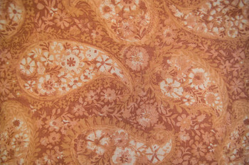 Cotton Blenders SPW219 - Tone on Tone Paisley - Peach