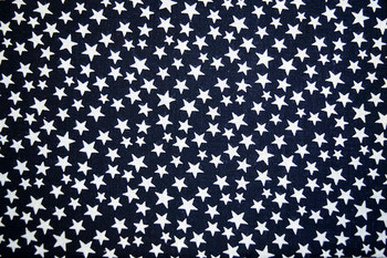 Seasonal SPW222 - Patriotic Stars - Navy/White