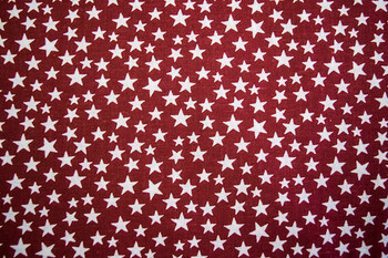 Seasonal SPW222 - Patriotic Stars - Red/White