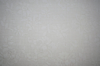 Santee - Tone on Tone - Floral and Dots - White/White
