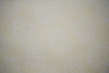 Santee - Tone on Tone - Floral Dots - Natural/White