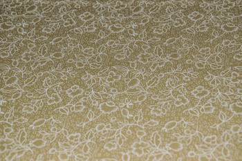 Tone on Tone SPW8 - Floral - Teastain