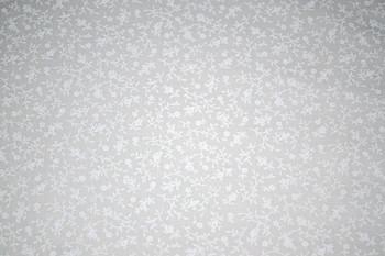Tone on Tone SPW8 - Floral - White/White