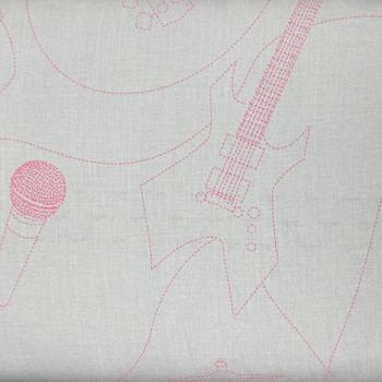 RJR - School Of Rock - Rock Instruments - Cream/Pink
