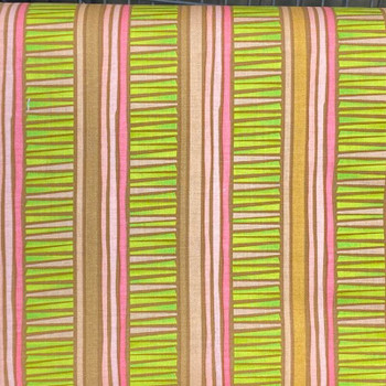 RJR - Silly Suggestions - Stripes - Lime/Pink