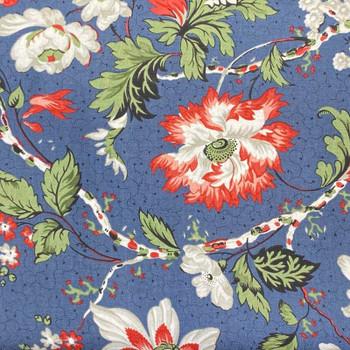RJR - Letters Home - Large Floral Print - Blue