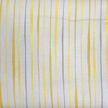RJR - Jardin Gris - Stripes - Yellow