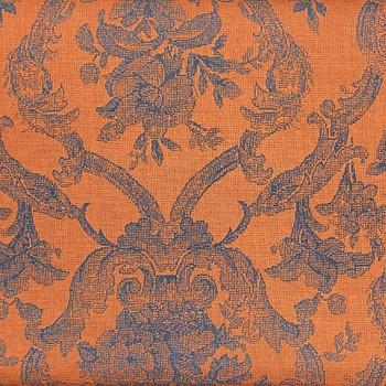 RJR - Casablanca - Floral Damask - Burnt Orange