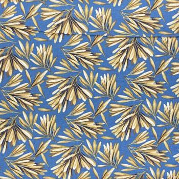 RJR - Garden Collage - Leaves - Blue