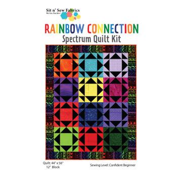 Rainbow Connection Quilt Kit
