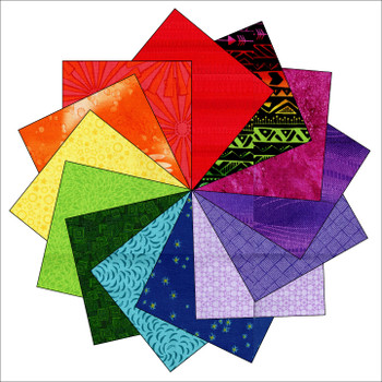 Rainbow Connection Quilt Kit