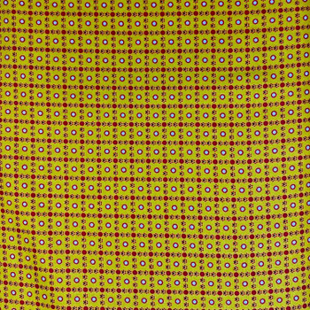 Washington Street Studios - Farm House - Geo Dots - Yellow