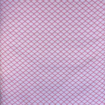 Washington Street Studios - Cross Quilt - Lattuce - Pink