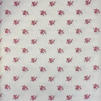 Washington Street Studios - Cross Quilt - Vintage Floral - Red