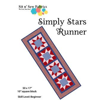 Simply Stars - Table Runner - Quilt Kit