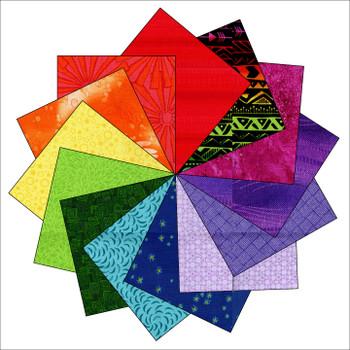 Rainbow Connection - 5'' Squares