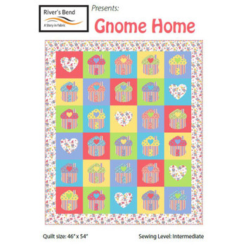 Gnome Sweet Gnome - Gnome Home Quilt Kit