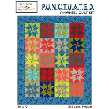 Punctuated - Pinwheel Quilt Kit
