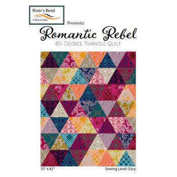 Romantic Rebel - 60 Degree Triangle Quilt Kit