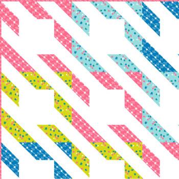 Viola Aprons - Stripes Quilt Kit - Close Up