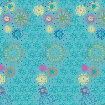 River's Bend - Bohemian Dreamin - Boho Allover - Turquoise