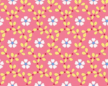 River's Bend - Cottage Blooms - Bloom Allover - Pink