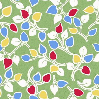 River's Bend - Cottage Blooms - Vines - Green
