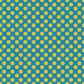 River's Bend - Girl Power - Polka Dots - Teal
