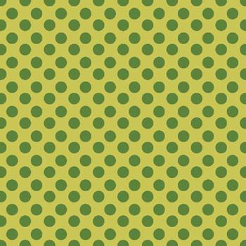 River's Bend - Girl Power - Polka Dots - Lt Geen