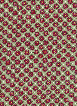 River's Bend - Glamping Gypsies - Red Flowers - Green