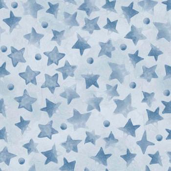 River's Bend - Sweet Dreams - Stars - Lt Blue